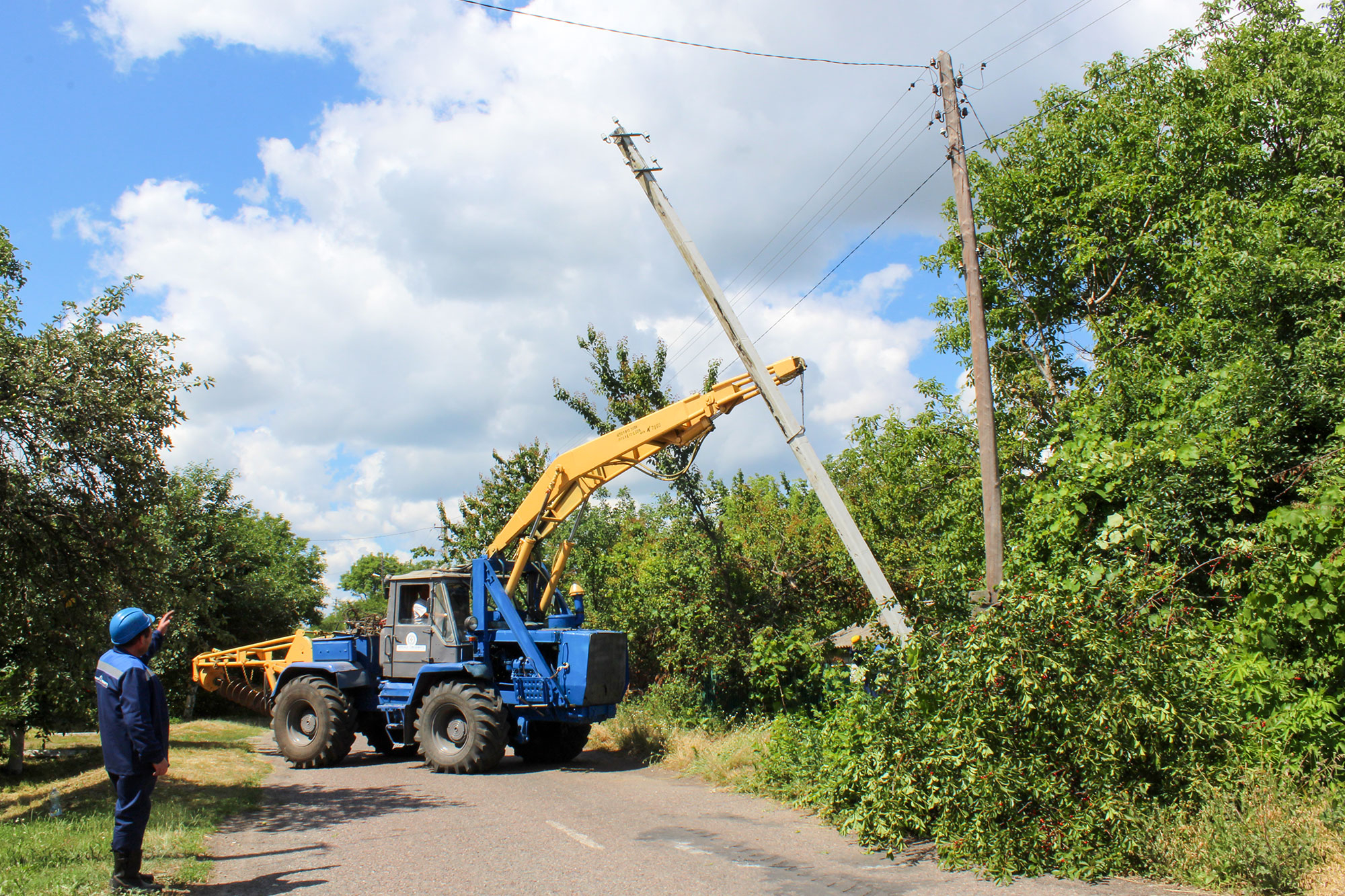 Товариство продовжує модернізацію електромереж